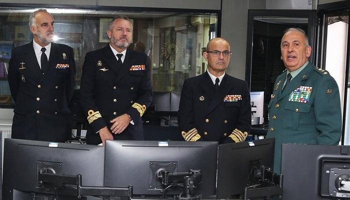 El almirante de la Flota visita la Comandancia de Algeciras