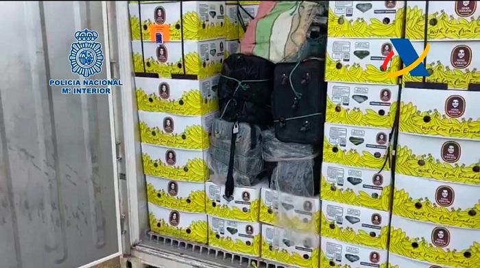 Incautados 200 kilos de cocaína oculta en un contenedor en el Puerto