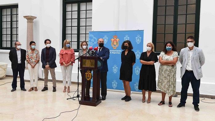 Inaugurada la Exposición 8S8 en el Museo Municipal de Algeciras