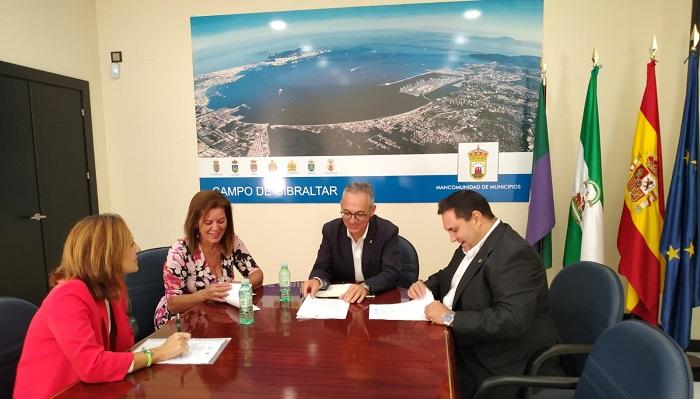 Mancomunidad y Apymeal unen lazos para fomentar el centro de Algeciras