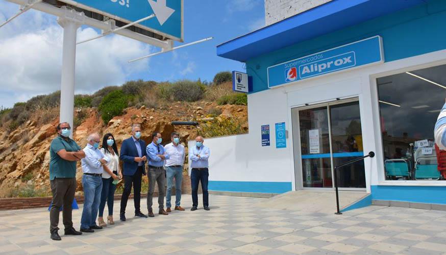 Inauguración del nuevo supermercado Aliprox.