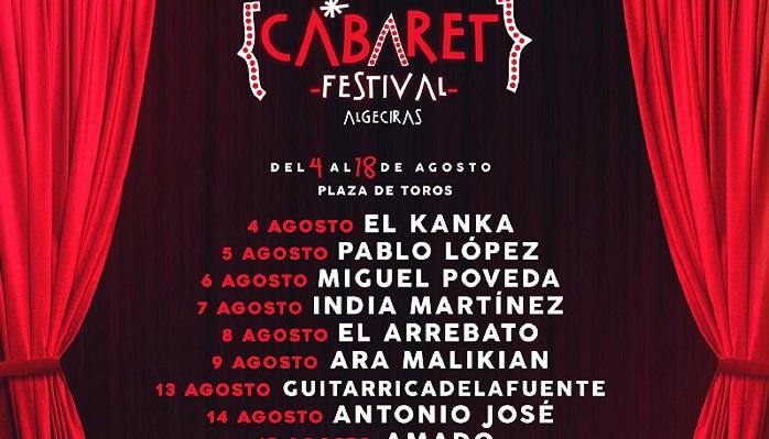 El 'Cabaret Festival Algeciras' traerá a lo mejor de la música en agosto