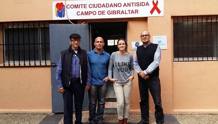 El Comité Antisida de Algeciras pide ayuda para su servicio Café y calor