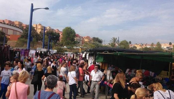 El Mercadillo de Algeciras no volverá al menos hasta la Fase 2