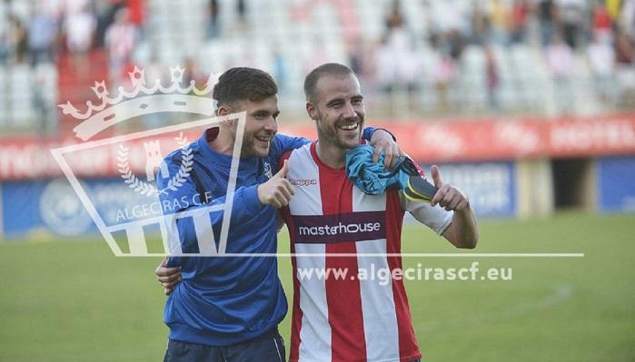 Borja Vicent abandona el Algeciras CF
