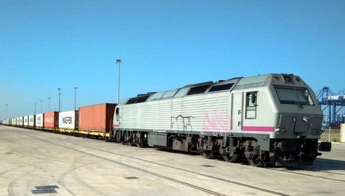 El tren de mercancías de la línea Antequera-Algeciras sufre otra avería