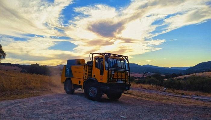 El Infoca da por controlado el incendio forestal de Tarifa