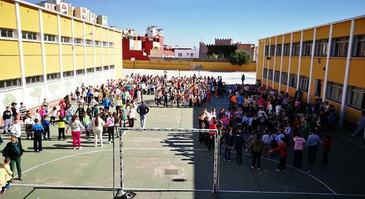 Una imagen de archivo del colegio