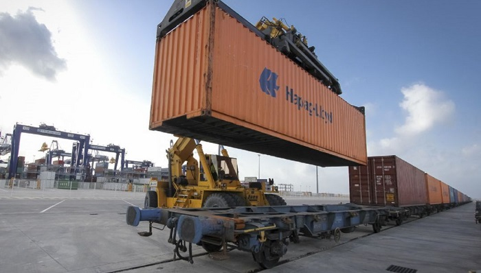 El tráfico ferroviario crece un 35% en el Puerto de Algeciras