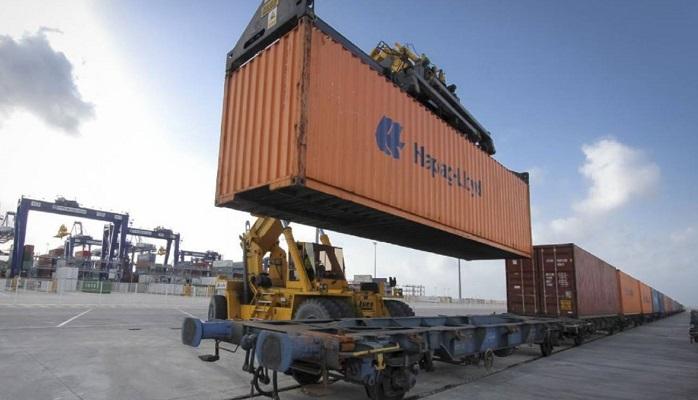 El Puerto bate su tráfico de mercancías movido en ferrocarril