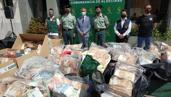 'Jumita' se cobra 28 detenidos, 16.5 millones y más de 1.600 kg de cocaína