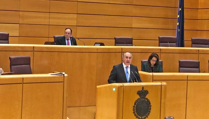 José Ignacio Landaluce en el Senado, en imagen de archivo