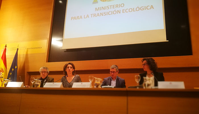 El Ministerio de Transición Ecológica está a cargo de ACUAES