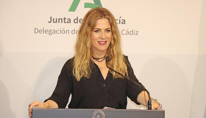 Ana Mestre, durante la presentación