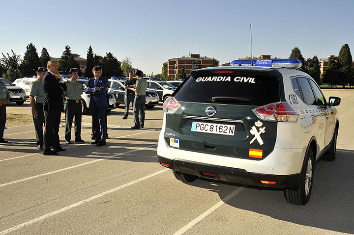 Un vehículo de la Guardia Civil, en imagen de archivo