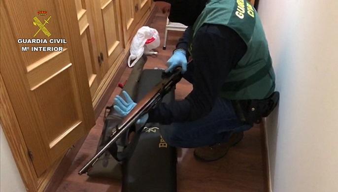 La operación ha sido realizada por la Guardia Civil