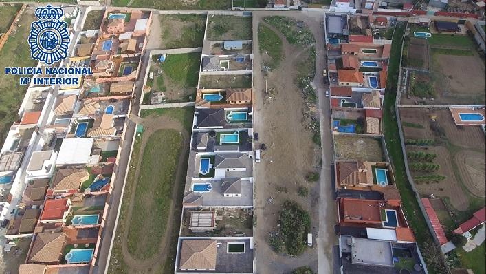 La parcela rústica se encontraba en la zona de El Zabal