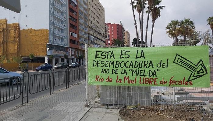 Agaden denuncia que el río de La Miel es la mayor cloaca de Algeciras