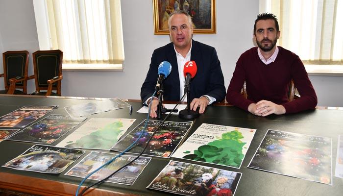 El alcalde ha presentado algunos de los actos para Navidad en San Roque