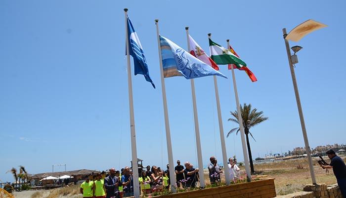 Imagen de archivo de una de las playas del municipio.