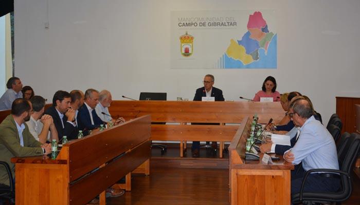 La reunión se ha celebrado en la Mancomunidad del Campo de Gibraltar