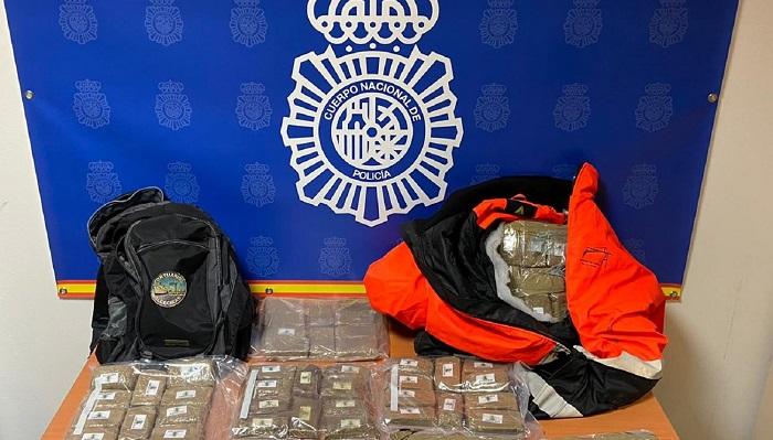 Detenido un estibador del Puerto de Algeciras y su pareja por tráfico de hachís
