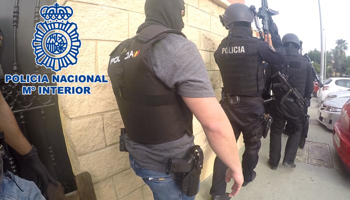 La Policía Nacional ha desmantelado dos puntos de venta de droga en Los Barrios