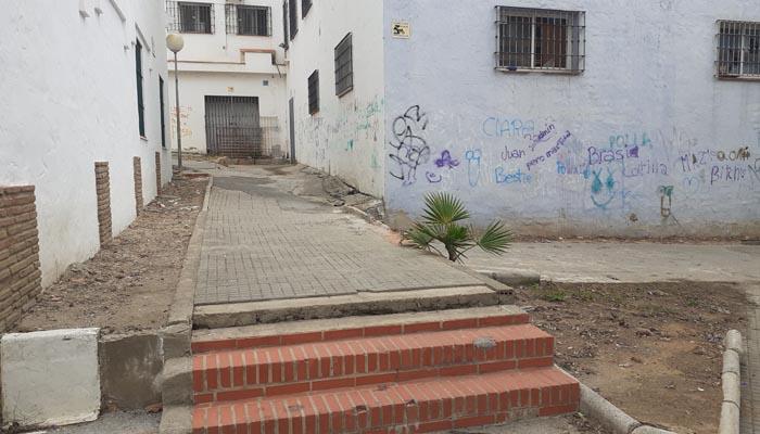 Imagen de la plaza Mayor de Pueblo Nuevo de Guadiaro