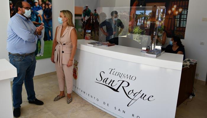 El punto de información turística de San Roque en Sotogrande