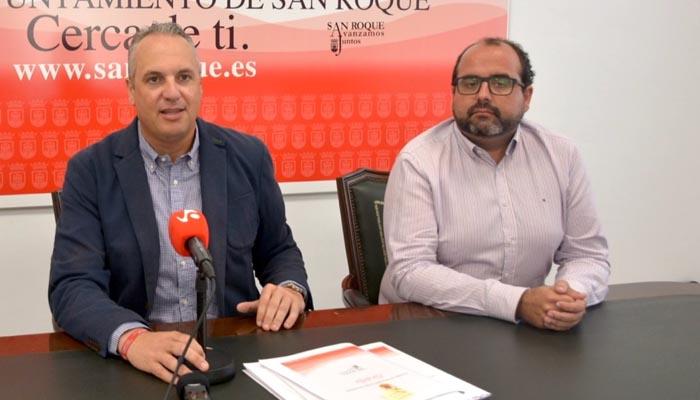 Juan Carlos Ruiz Boix y Óscar Ledesma