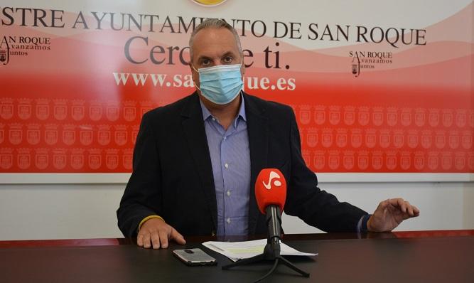 Juan Carlos Ruiz Boix, alcalde de San Roque