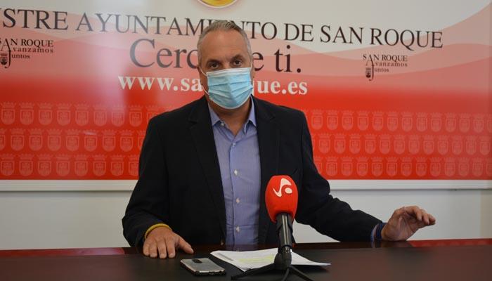 Ruiz Boix se muestra preocupado por los datos de Covid-19 en San Roque