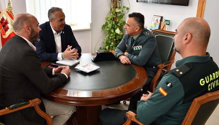 Recepción al nuevo responsable de la Guardia Civil en La Línea