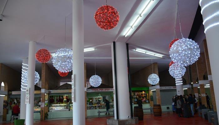 Interior del Mercado Diego Ponce de San Roque