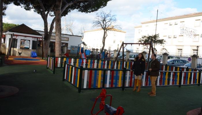 El parque infantil de la Alameda Alfonso XI