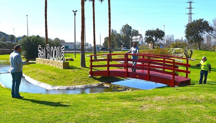 Imagen de la nueva pasarela en el Parque de la Vida