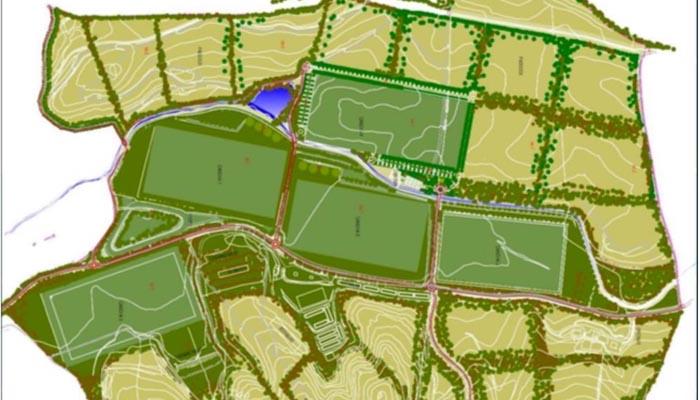 Plano del proyecto que se desarrollará en San Enrique
