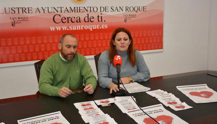 Presentación del certamen literario Cartas de Amor Ciudad de San Roque