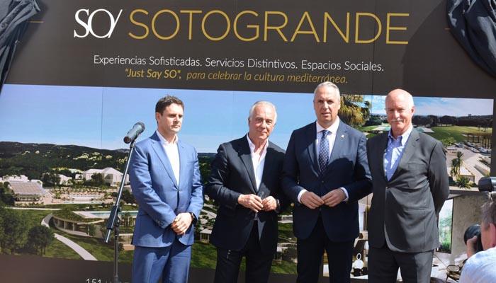 El alcalde ha acudido al acto simbólico celebrado en el día de hoy