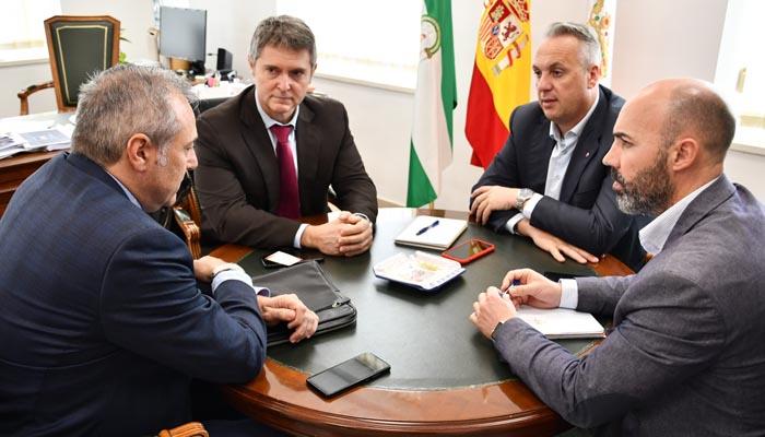Recepción a los nuevos comisarios de La Línea y Algeciras