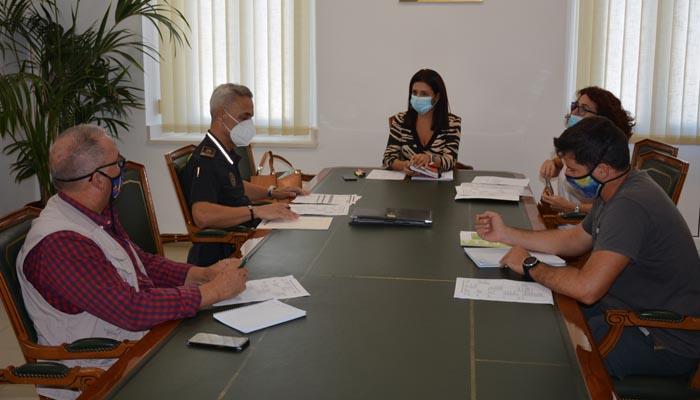 La reunión se ha mantenido en las instalaciones del Ayuntamiento de San Roque