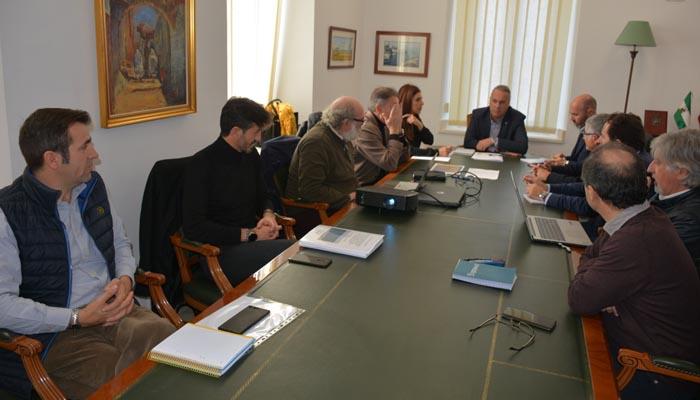 Reunión sobre el fondeadero en el Ayuntamiento de San Roque