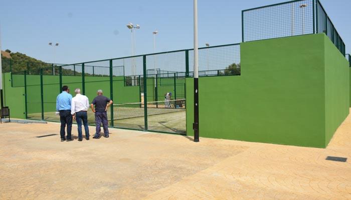 Una de las instalaciones deportivas de San Roque