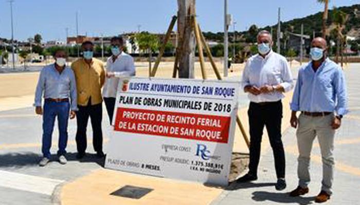 El alcalde visitó las obras