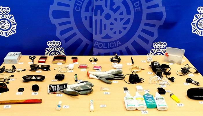 Detenido en Algeciras el presunto autor de varios robos en vehículos