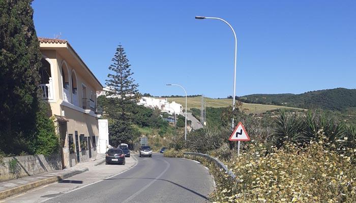 Acceso norte a la calle Carretera de Guadiaro. Foto: PIVG