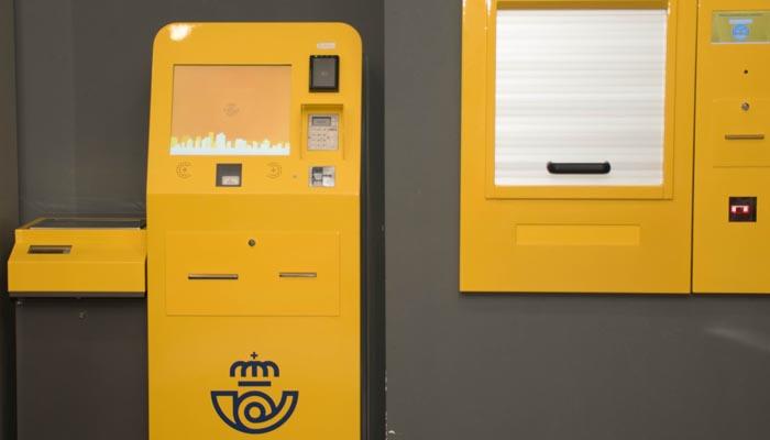 La máquina autoservicio de Correos llegará a Algeciras y La Línea