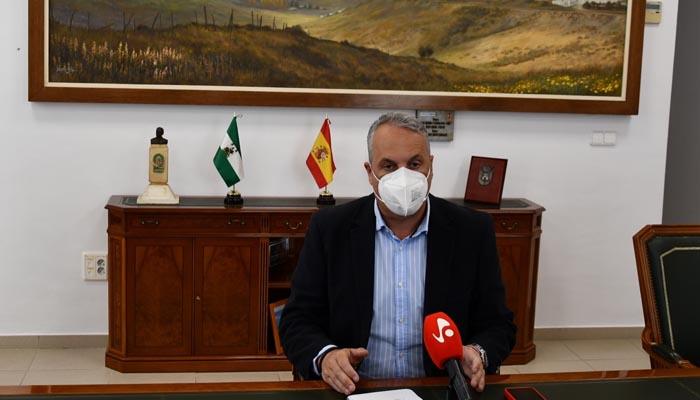 El alcalde de San Roque, Juan Carlos Ruiz Boix