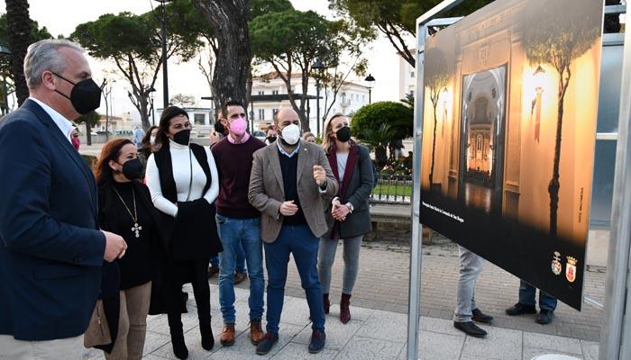Inauguración de una de las exposiciones de Semana Santa