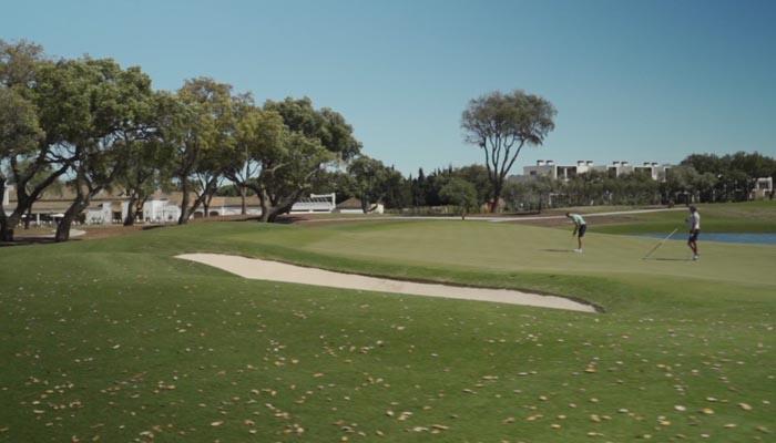El golf, uno de los atractivos que San Roque presenta en Fitur 2021.